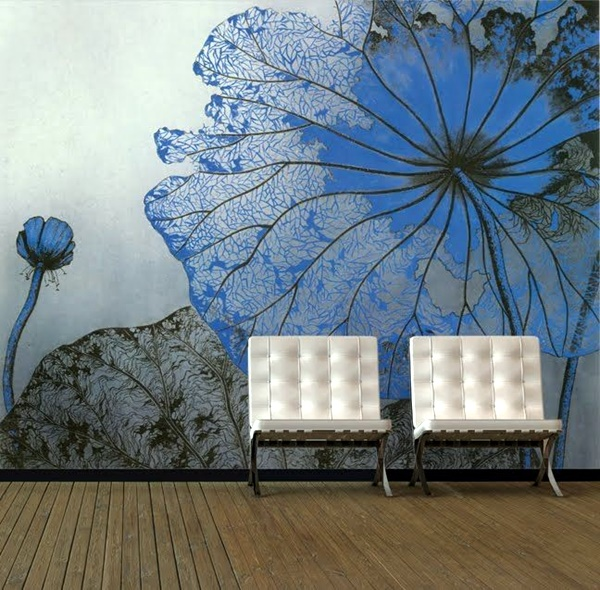 40 elegant wall painting ideas for your beloved home - Elegant wall paint designs ...