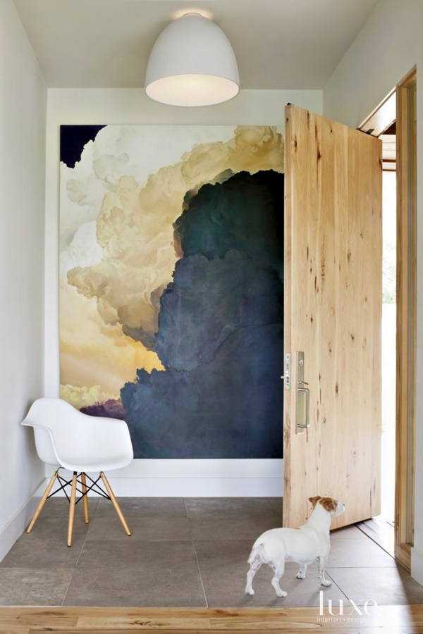 40 elegant wall painting ideas for your beloved home bored art - Exterior wall painting ideas for home minimalist ...