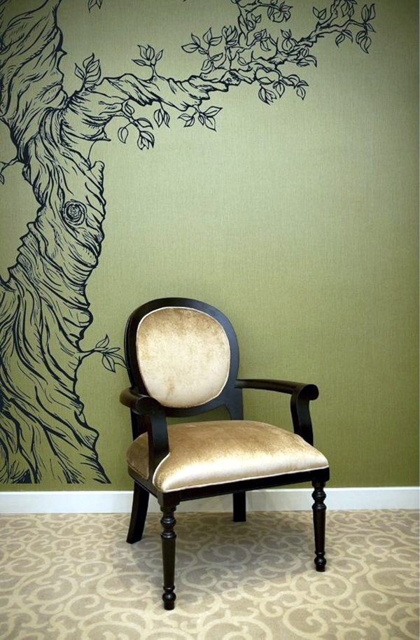 Elegant Wall Painting Ideas For Your Beloved Home (47)