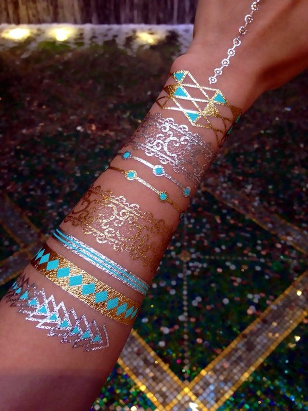 Genius Metallic Tattoos to have in 2016 (11)