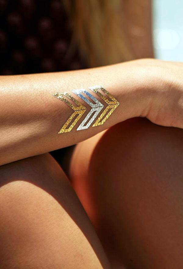 Genius Metallic Tattoos to have in 2016 (19)