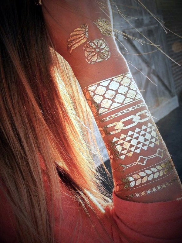 Genius Metallic Tattoos to have in 2016 (37)