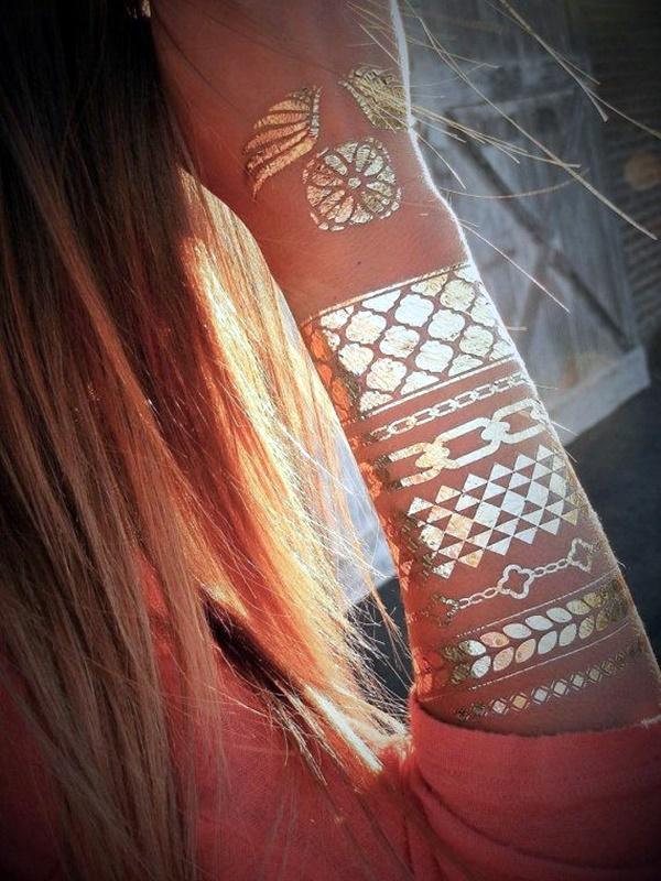 Genius Metallic Tattoos to have in 2016 (37)
