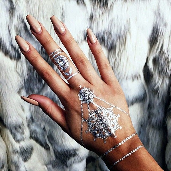 Genius Metallic Tattoos to have in 2016 (39)