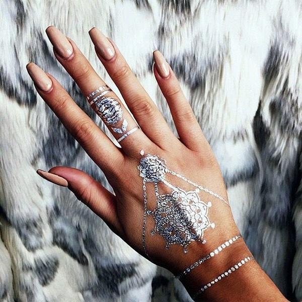 Genius Metallic Tattoos to have in 2016 (39)
