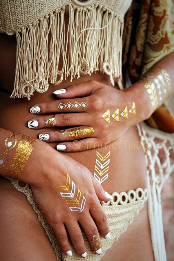 Genius Metallic Tattoos to have in 2016 (46)