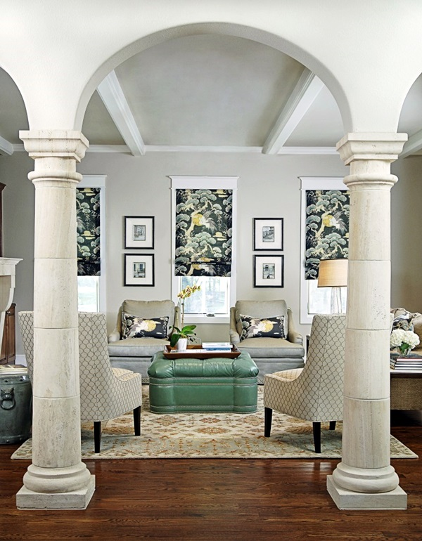 Living Room Designs With Pillars : Glorious pillar designs to give a grand look your