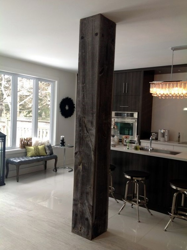 Glorious Pillar Designs To Give A Grand Look To Your House on Post And Beam Barn Home Kitchen