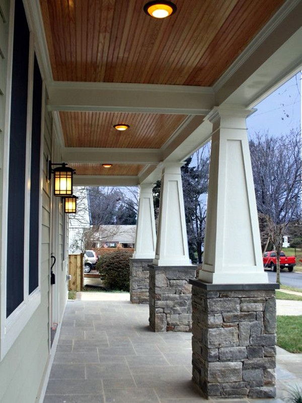 Glorious Pillar Designs To Give A Grand Look To Your House 5