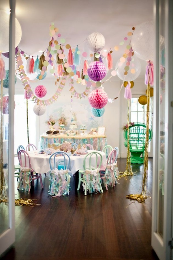 40 impossibly creative hanging decoration ideas bored art for 17th birthday decoration ideas