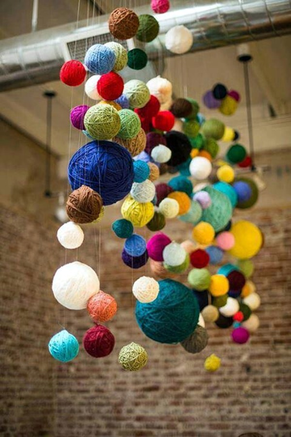 Impossibly Creative Hanging Decoration Ideas (25)