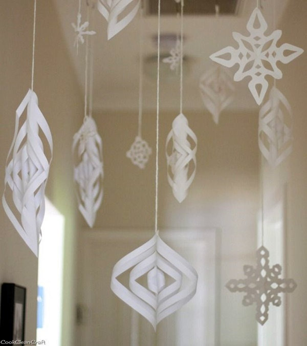 How To Make Paper Christmas Ceiling Decorations : Impossibly creative hanging decoration ideas bored art