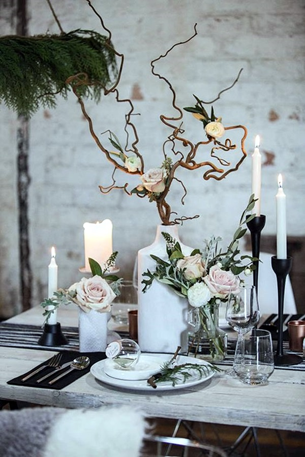 Inspirational tree branches decoration ideas bored art
