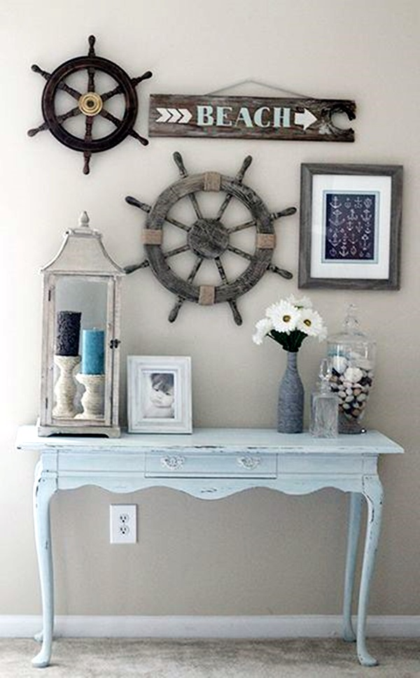 40 nautical decoration ideas for your home bored art nautical rope home decor beach house