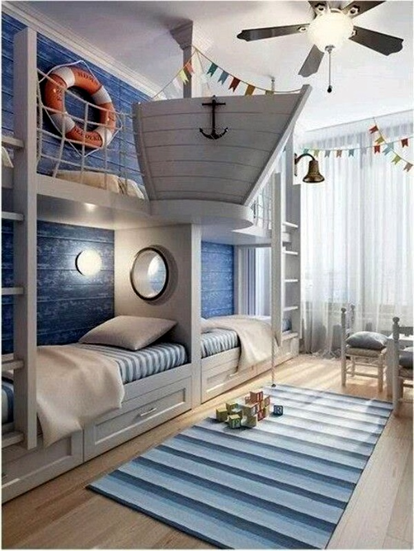 Nautical Decoration Ideas For Your Home (40)