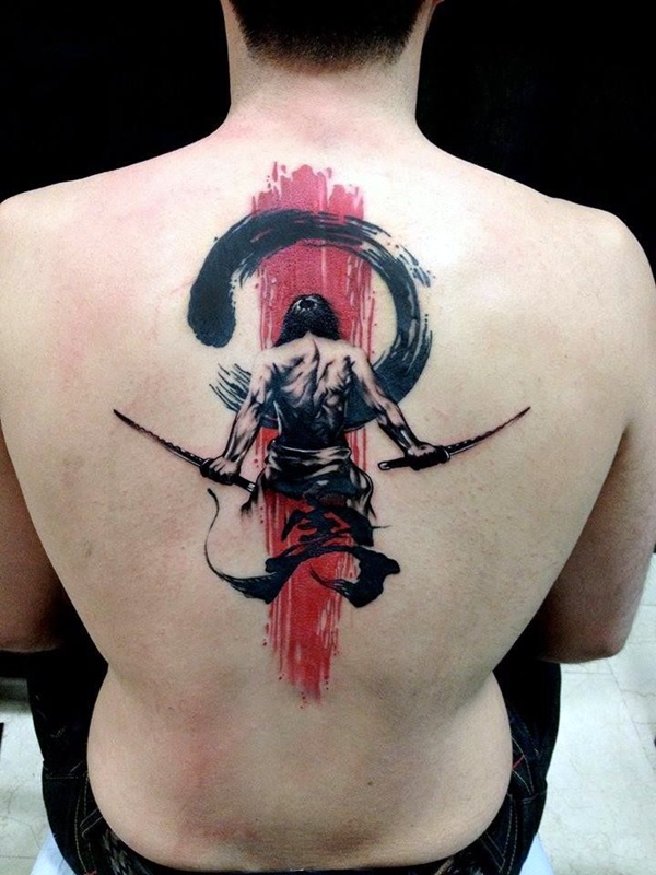 Strong and Perfect Worrior Tattoos (16)