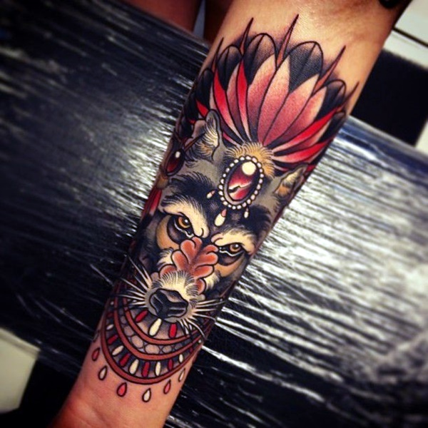 Strong and Perfect Worrior Tattoos (20)