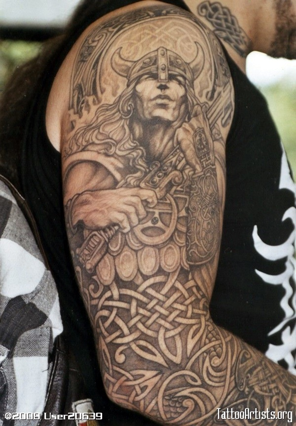 Strong and Perfect Worrior Tattoos (22)