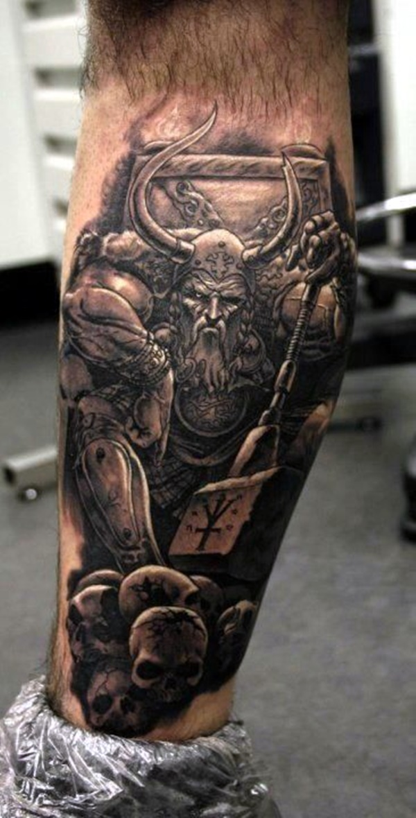 Strong and Perfect Worrior Tattoos (30)