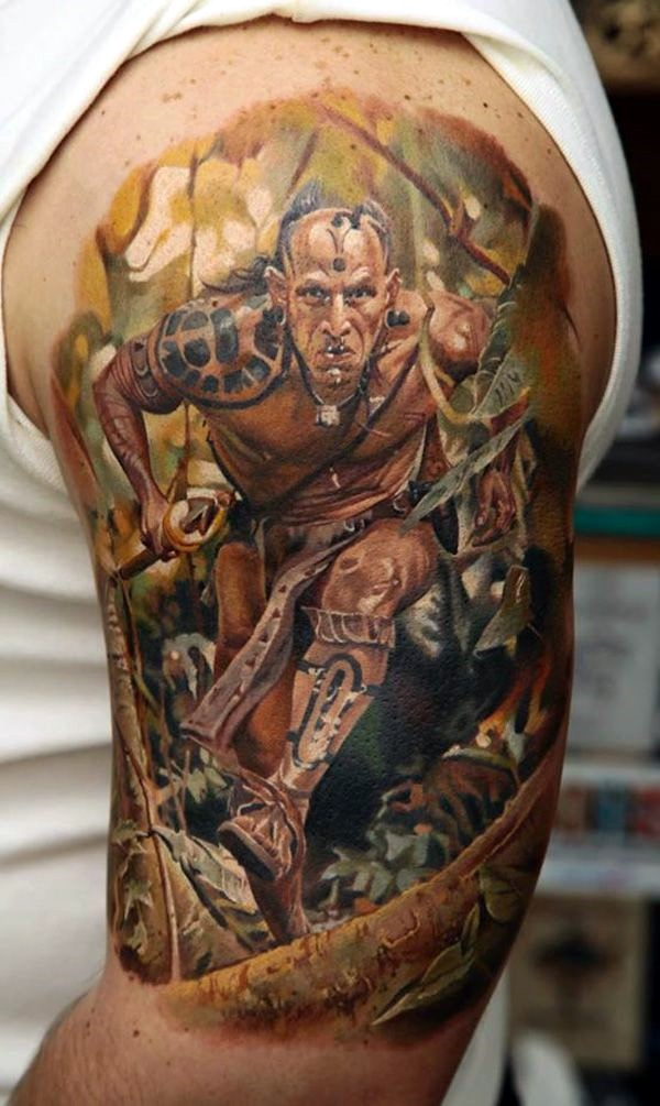 Strong and Perfect Worrior Tattoos (32)