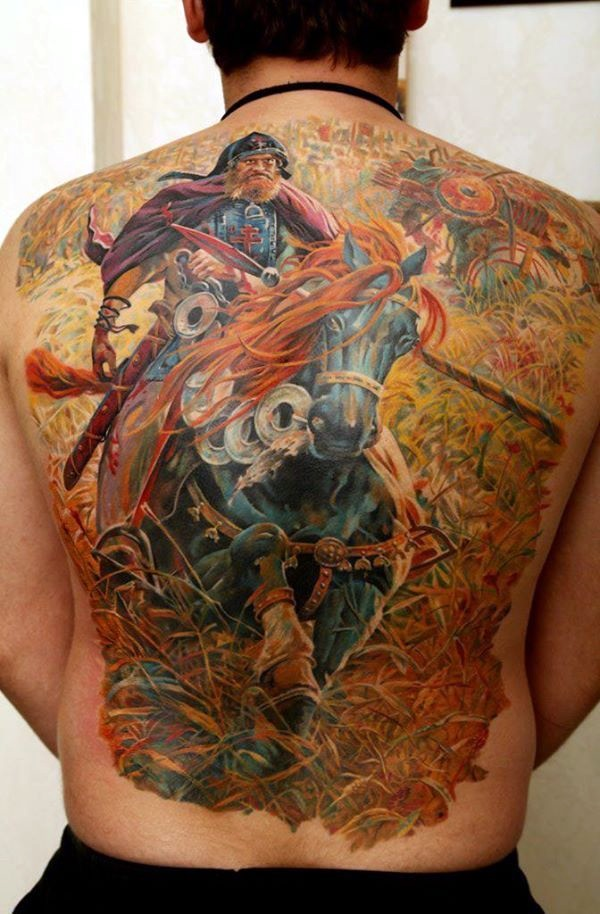 Strong and Perfect Worrior Tattoos (36)