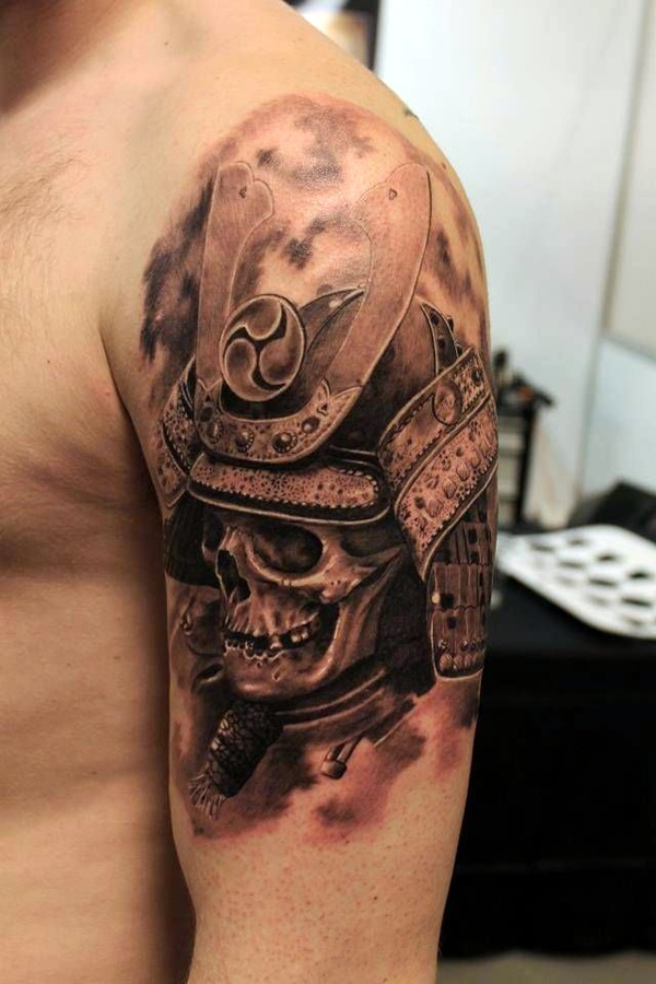 Strong and Perfect Worrior Tattoos (5)