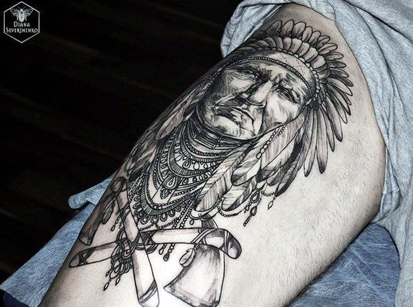 Strong and Perfect Worrior Tattoos (6)