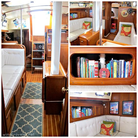 Superb Boat Interiors 11