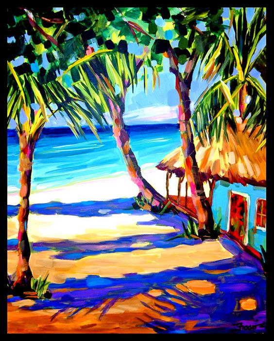 Colorful And Cheerful Caribbean Art To Cheer You Up