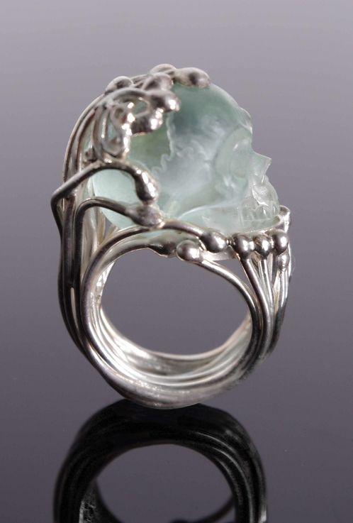 Healing Crystal Wedding Rings