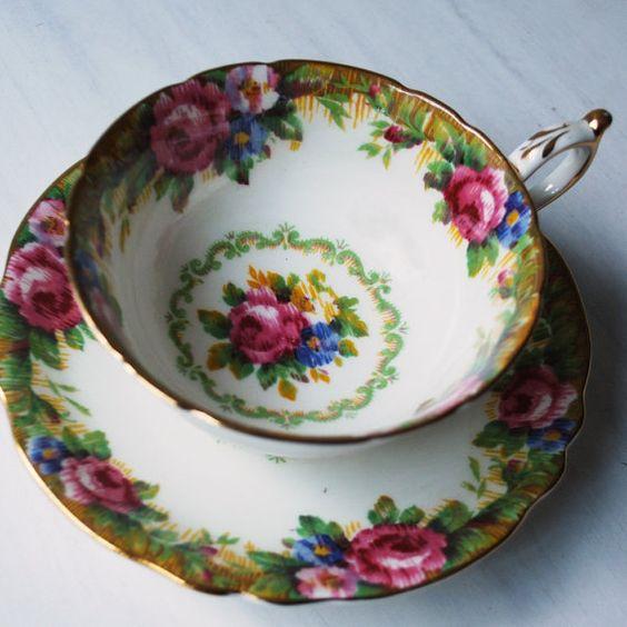 vintage tea cups 1
