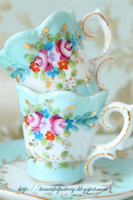 vintage tea cups 25