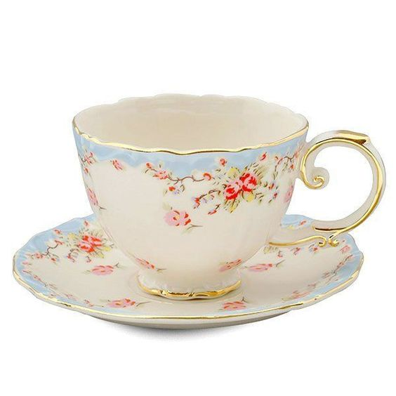 Very Warm And Winsome Vintage Tea Cups Bored Art