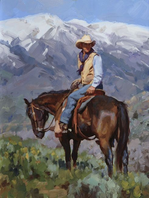 wonderful and winning western and cowboy paintings bored art