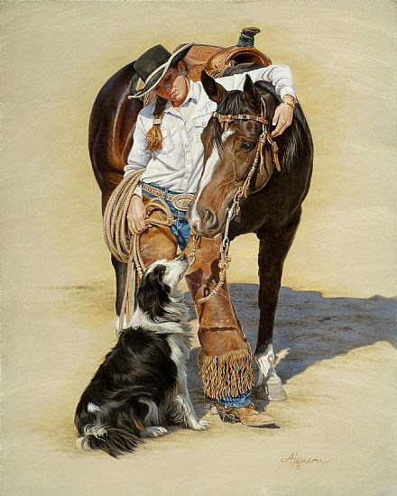 western and cowboy paintings 18