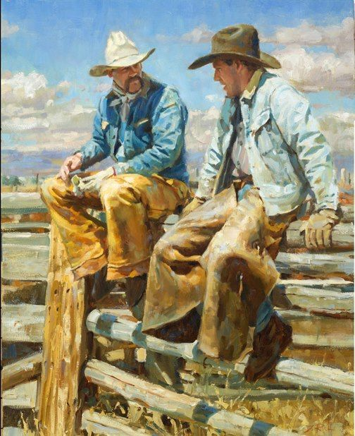 western and cowboy paintings 31