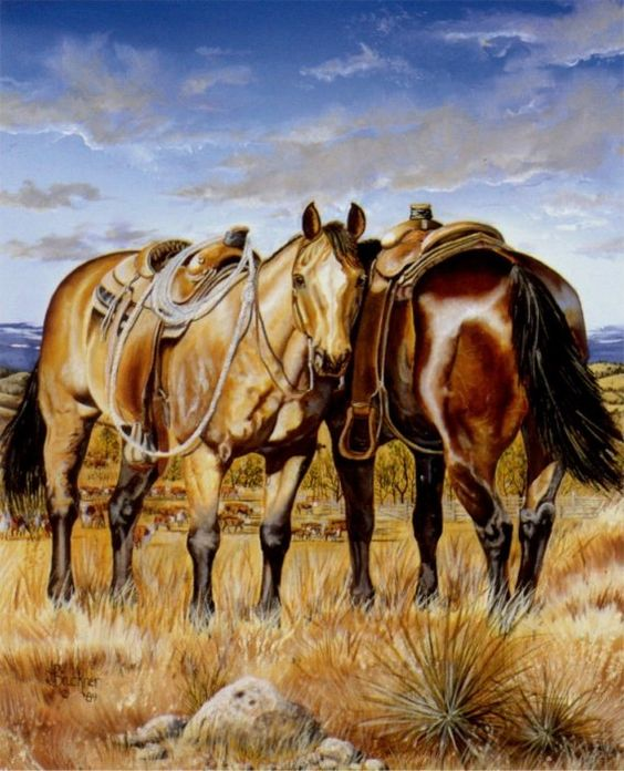 western and cowboy paintings 6