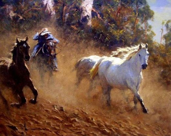 western and cowboy paintings 8