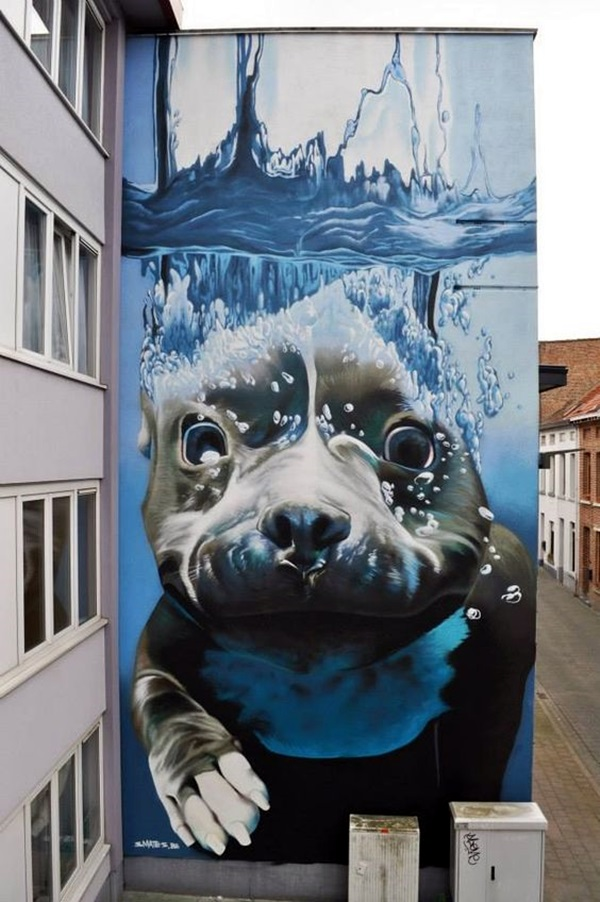 Amazing Huge Street Art on Building Walls (1)