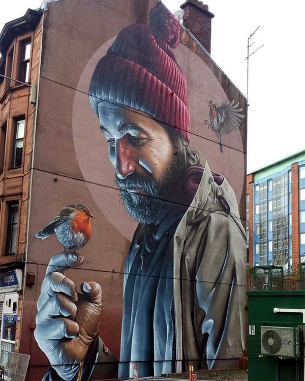 Amazing Huge Street Art on Building Walls (12)