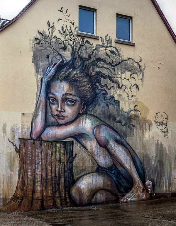 Amazing Huge Street Art on Building Walls (16)
