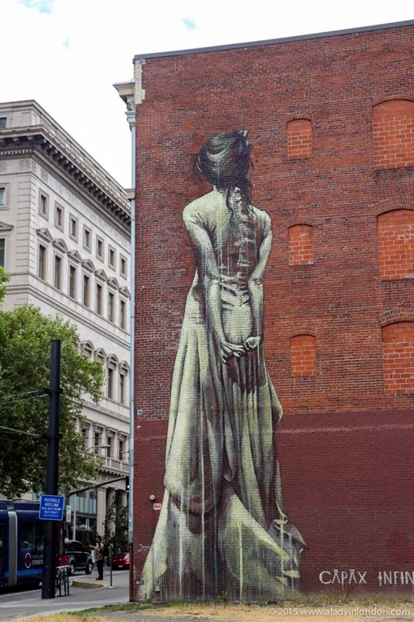 Amazing Huge Street Art on Building Walls (17)