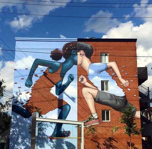 Amazing Huge Street Art on Building Walls (18)