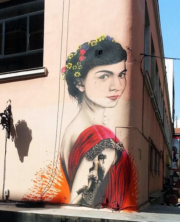 Amazing Huge Street Art on Building Walls (19)