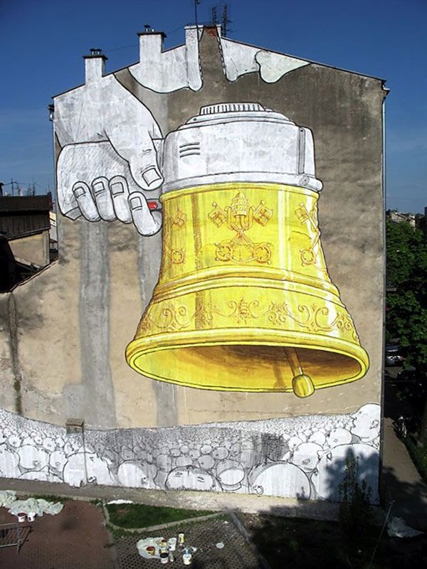 Amazing Huge Street Art on Building Walls (26)
