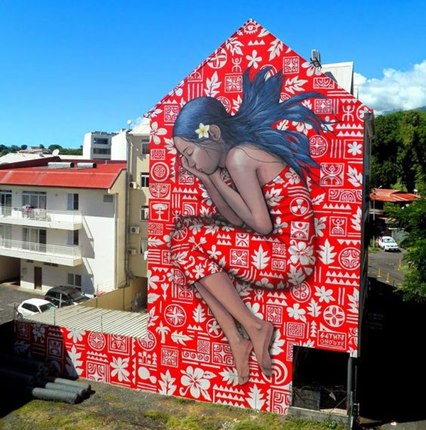 Amazing Huge Street Art on Building Walls (27)