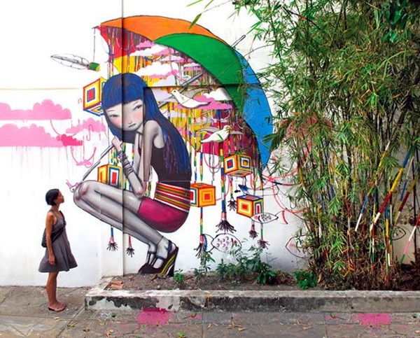 Amazing Huge Street Art on Building Walls (30)