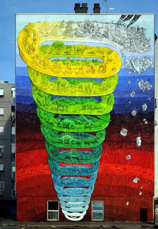 Amazing Huge Street Art on Building Walls (31)