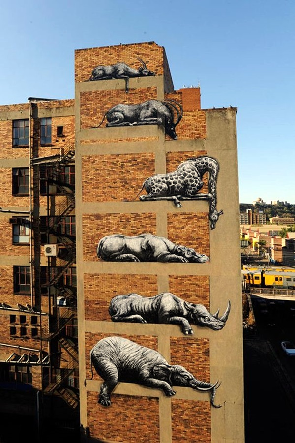 Amazing Huge Street Art on Building Walls (32)