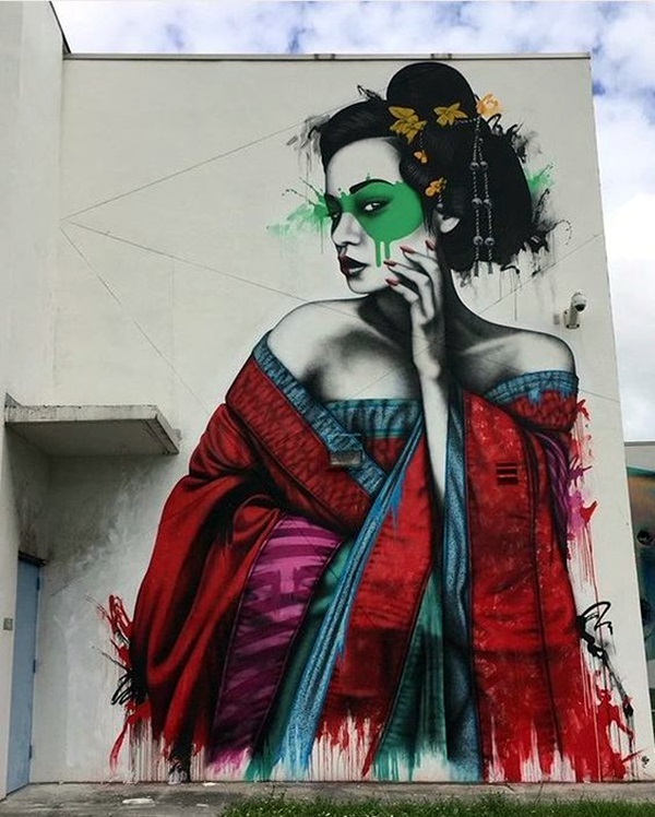 Amazing Huge Street Art on Building Walls (33)